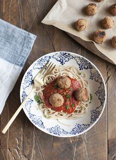 Spaghetti and White Bean Balls, Plus a Jovial Foods Giveaway! | Choosing Raw – vegan and raw recipes