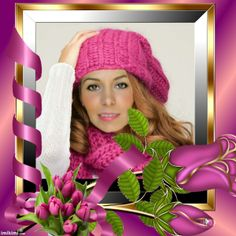 Frame Crochet Hats, Places, Frame, Fashion, Knitting Hats, Picture Frame, Moda, Fashion Styles, Frames