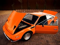 1973 Lamborghini Jamara 400 GTS  Maintenance/restoration of old/vintage vehicles: the material for new cogs/casters/gears/pads could be cast polyamide which I (Cast polyamide) can produce. My contact: tatjana.alic@windowslive.com