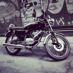 What a ride!!! #ride #bw #blackandwhite #motorcycle #yamaha #rider #road #speed #graffiti #instagood #motorbike #picoftheday #aroundthecorner #instamood #instacool #cool #bikesgram #instamotor #Turkey #Istanbul #karakoy #street #vintage #boytoy #travelblog #travel #viagem #viajar #viagensincriveis #loveandroad