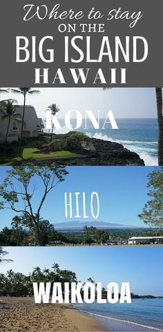 Wondering where to stay on the Big Island of Hawaii? Here's my list of the best places to stay on the Big Island Hawaii and the best hotels to choose. Hawaii Honeymoon, Hawaii Vacation, Vacation Ideas, Hawaii Trips, Vacation Games, Vacation Rentals, Dream Vacations, Vacation Spots, Tonga