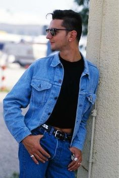 Dave Gahan 1980's early Depeche Mode,  via Gahanfever101