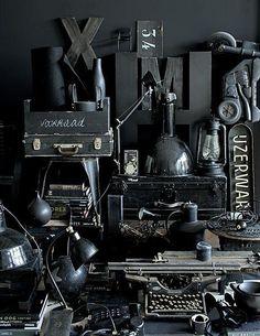 so me,lot of black things,