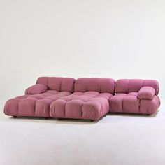 Mario Bellini; 'Camaleonda' Sectional Sofa for C & B Italia, 1970s.