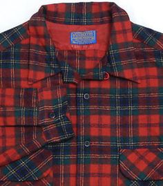A truly old school wool shirt, this Pendleton has a great tartan print.