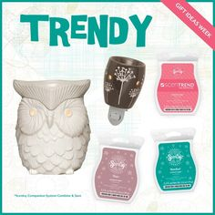 Trendy decor for anyone on your list! http://whatswarming.scentsy.us