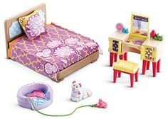 Dollhouse Furniture - FisherPrice Loving Family Parents Bedroom *** You can get more details by clicking on the image.