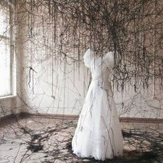 Art Installation by Chiharu Shiota.