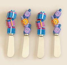 Rite Lite SCR-8 Chanukah Spreaders - Set of 4 - Pack of 3 by Rite Lite. $38.05. Artist: Jenji.. Color/Finish: Multi-color.. Dimensions: 1.00 L x 0.75 W x 5.00 H... Great Gift Idea.. Season: Chanukah.. Dimensions: 1.00 L x 0.75 W x 5.00 H.. Color/Finish: Multi-color. Season: Chanukah. Artist: Jenji. Great Gift Idea.