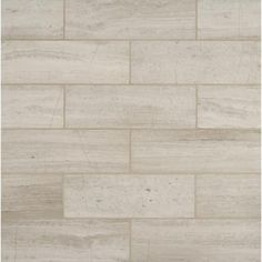 MS International White Oak 4 in. x 12 in. Honed Marble Floor and Wall Tile (2 sq. ft. / case)-TWHITOAK412H - The Home Depot