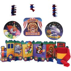 Circus Party Decoration Package