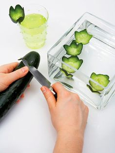 Drink Garnishes: Keep It Cool