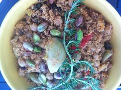 Antipasto Couscous with Chickpeas #MeatlessMonday
