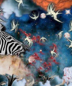 Night travel created with Bazaart by Akira Hashiguchi