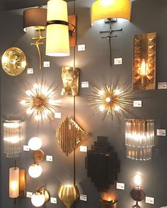 One of our favorite shots from #DallasMarket #Lightovation - the #Sconces Wall. More:  #InteriorDesign #DesignInspo