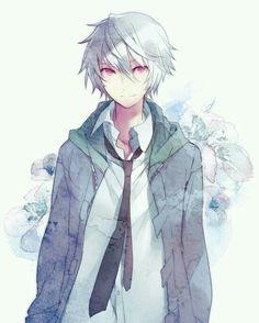 Anime Boys With White Hair