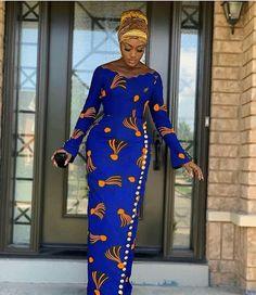 Lovely African Print Dress, Classic Ankara Dress, African Dress - Women's style: Patterns of sustainability African Fashion Ankara, Latest African Fashion Dresses, African Print Fashion, Africa Fashion, African Ankara Styles, Modern African Fashion, Ankara Styles For Women, African Fashion Designers, Latest Ankara Styles