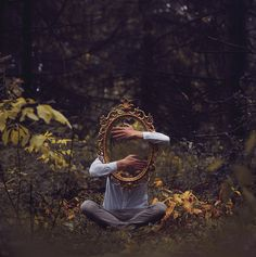 """""""Invisible"""" Kyle Thompson is a photographer from Chicago, Illinois. Currently in Portland Photos are usually taken in abandoned houses and forests. Style - surreal conceptual photography"""
