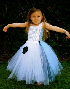 Alice in Wonderland Costume Tutu Dress Baby Girls Toddler Halloween Costume Alice in Wonderland tutu dress by American Blossoms on Etsy $60.00 | Kaliu0027s 1st ...  sc 1 st  Pinterest & Alice in Wonderland Costume Tutu Dress Baby Girls Toddler Halloween ...
