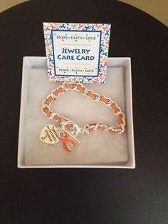 Multiple Sclerosis Awareness Bracelet-New! (Get it on Ebay-Ships from Florida)