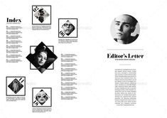 40 Pages Minimal Magazine