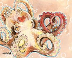 octopus art by Bianca Roman-Stumpff (https://www.facebook.com/pages/The-Art-of-Bianca-Roman-Stumpff/146457122073350)