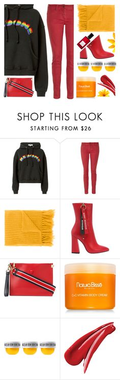 """in the hoodie"" by sunnydays4everkh ❤ liked on Polyvore featuring RE/DONE, Burberry, MP di Massimo Piombo, Havva, Versace, Natura Bissé, Sol de Janeiro, Diana Vreeland and Hoodies"