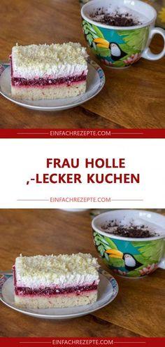 Frau Holle LECKER Kuchen 😍 😍 😍 Easy Cake Recipes, Food And Drink, Favorite Recipes, Baking, Breakfast, Desserts, Post, Muffins, Wordpress