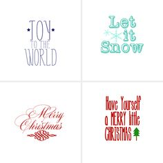 Merry Little Christmas Mod Podge Frame