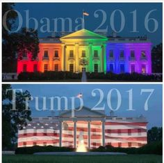 2017 A President of One Nation of People. 2016 A President of One Type of People.
