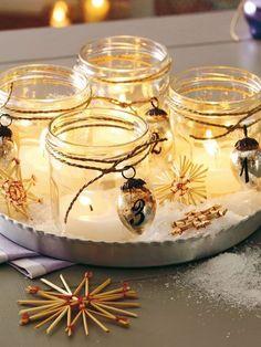 Haben Sie auch gerne Kerzen im Haus? Diese 11 süßen Windlichter für den Winter sind echt gemütlich! - Seite 3 von 11 - DIY Bastelideen