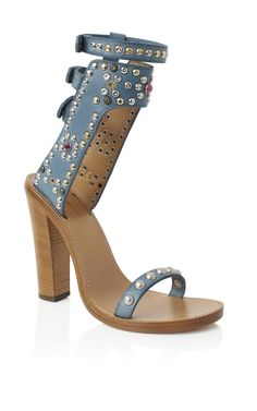 Currently looking for a sugar daddy to buy me these Isabel Marant Azur Charlotte Elvis Sandal Ankle Wrap Sandals, Ankle Strap Shoes, Open Toe Sandals, Shoes Sandals, Blue Suede Shoes, Swarovski, Sneakers For Sale, Me Too Shoes, Fashion Shoes
