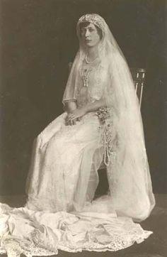 Princess Mary of England, sister to King George VI. Daughter of King George V and Queen Mary of England
