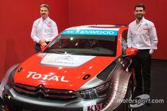 Aquí el huevo diseño del auto que van a utilizar los campeones del mundo José María López y Yvan Muller en la temporada de 2016.