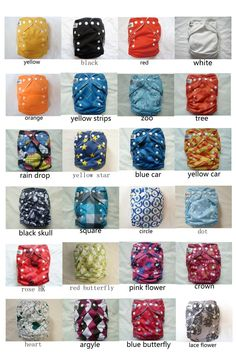 Sun babies   2.very inexpensive and tons of colors/patterns.   #clothdiapers #nopins.