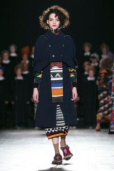 Looks for next fall from Stella Jean. Inspired by the French American War, perhaps?