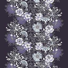 Mesi col.1 black/lila by Tanja Orsjoki - Vallila Interior '13