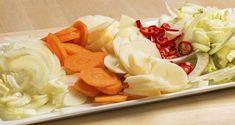 Trinn 1 Cabbage, Vegetables, Food, Meal, Essen, Vegetable Recipes, Hoods, Cabbages, Meals