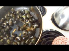 How to cook snails, and eat it too! Chinese spicy black-bean sauce