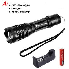 Powerful CREE XML-T6/L2 LED Flashlight Tactical Torch Waterproof 5 Modes 5000 Lumen led torch light linternas bike light zk50 - A, L2