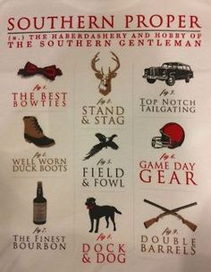 Classic Southern Style. Too bad I was born in the midwest, cause everything southern fits me all to well.