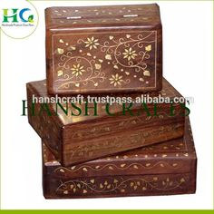 Source Antique Carved Wooden Box/ Brass Inlay Wooden Jewellery Gift Box on m.alibaba.com Antique Wooden Boxes, Wooden Gift Boxes, Wooden Jewelry Boxes, Wooden Gifts, Cotton Shopping Bags, Wood Sizes, Jute Bags, Small Furniture, Cheap Bags