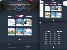 X Gamer website design by Tanvir ahmed fahim for Themeapt