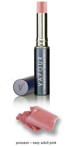 Vapour Organic Beauty Siren Lipstick, Moisturizing, Long-Wearing, Non-Toxic Lipstick - Possess 418