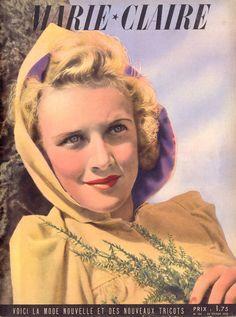 VINTAGE MAGAZINES - MARIE-CLAIRE 1939