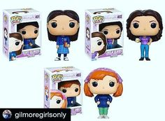Sometimes you see a post that makes you so happy. This IS that post! I am so excited to get these!!  #Repost @gilmoregirlsonly with @repostapp  These Gilmore Girls @originalfunko pops will be available in December! I can't wait to buy them and add even more stuff to my collection! Which one is your favorite? Mine is Lorelai's with her little Luke's diner cup!  #gilmoregirls #gilmoregirlsrevival #funkopop #twitter #lorelaigilmore #rorygilmore #laurengraham #alexisbledel