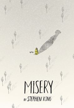 Misery #book #covers #jackets #portadas #libros