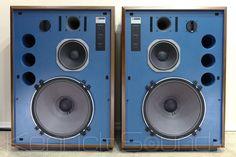 JBL 4345 new elaborate Ripurodakuto new silicone boasts the highest quality individuals - Ken Rick sound (KENRICK SOUND) - JBL speakers Series Large used vintage shop Speaker Amplifier, Speaker System, Big Speakers, Audio Sound, Music System, High End Audio, Hifi Audio, Diy Electronics, Loudspeaker