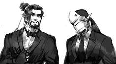 리위 : 목..운ㄷ..동.. (@qwe05131)   Twitter Genji Shimada, Hanzo Shimada, Overwatch, Shimada Brothers, Genji And Hanzo, Spirit Animal, Cool Art, Bae, Hero