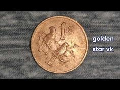 Sell Old Coins, Old Coins Worth Money, Rare Coin Values, Disney Princess Memes, Valuable Coins, Coin Worth, Golden Star, South Africa, African